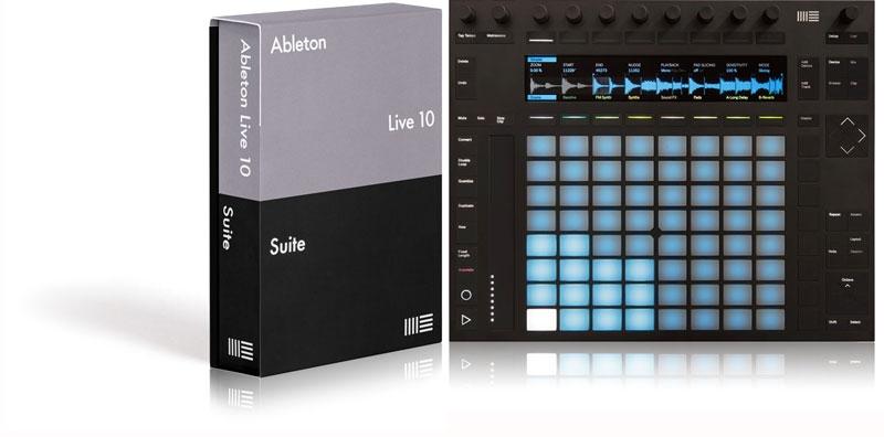 JRRshop com | Ableton Live 10 Suite + Push 2 Combo