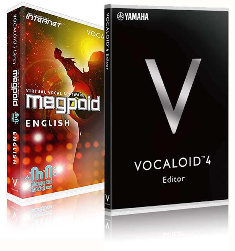 Internet Co  Vocaloid 4 Megpoid inglés Starter Pack