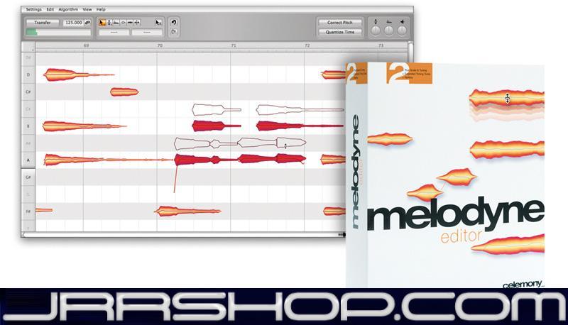 Celemony Melodyne 4 Studio Upgrade from Editor eDelivery JRR Shop