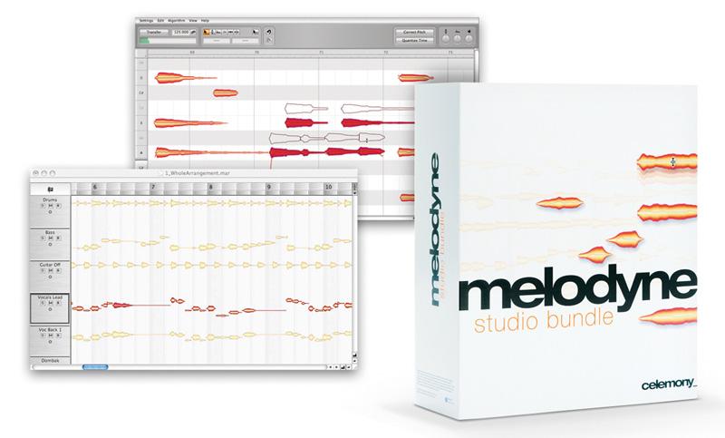 Celemony Melodyne 5 Studio Upgrade Von Melodyne Studio 4 Audio Software Neu