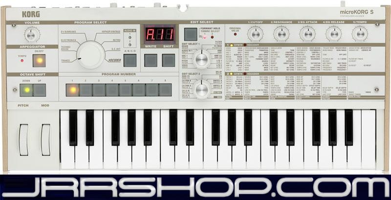 Details about Korg MicroKorg S Synthesizer Vocoder - Demo Product JRR Shop