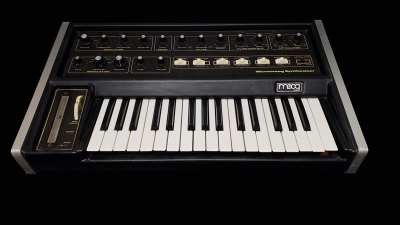 Details about Moog Micromoog Analog Synthesizer - Used JRR Shop