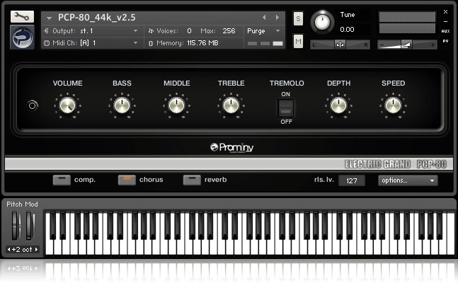 JRRshop com | Prominy Sample Library Electric Grand PCP-80