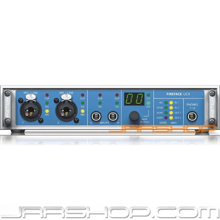RME Fireface UCX USB & FireWire Audio Interface Interface Interface New JRR Shop 612d9f
