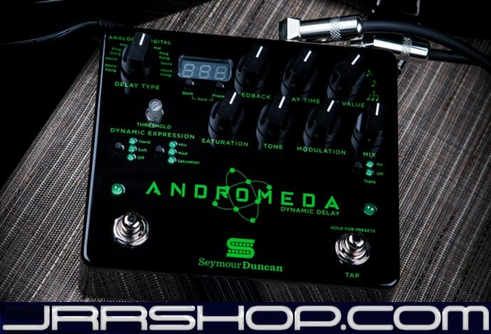 Seymour Duncan Andromeda Digital Delay Pedal New JRR Shop