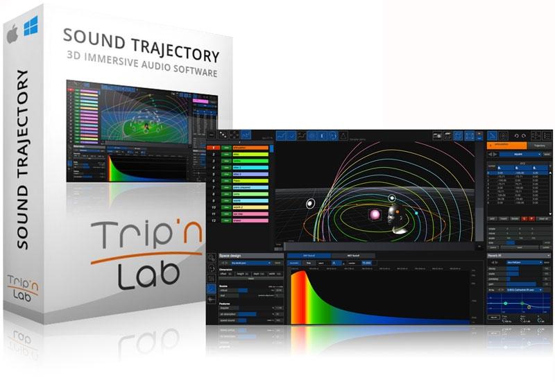 JRRshop com | TripinLab Sound Trajectory 3D Sound Universe