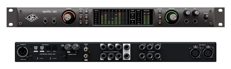 Details about Universal Audio Apollo x6 Thunderbolt 3 Audio Interface New  JRR Shop