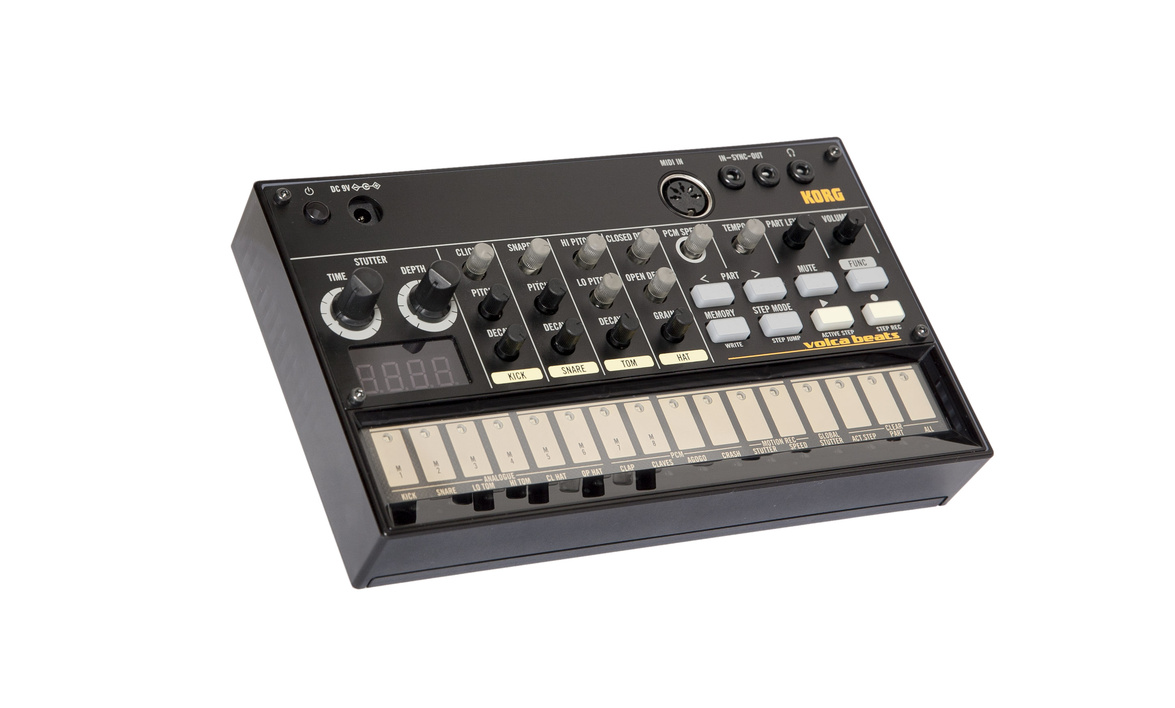 Korg Volca Beats Analog Rhythm Machine Electribe-style Sequencer Peerless Beats Generated By Solid Analog Drum Sounds Guitar Parts & Accessories Stringed Instruments