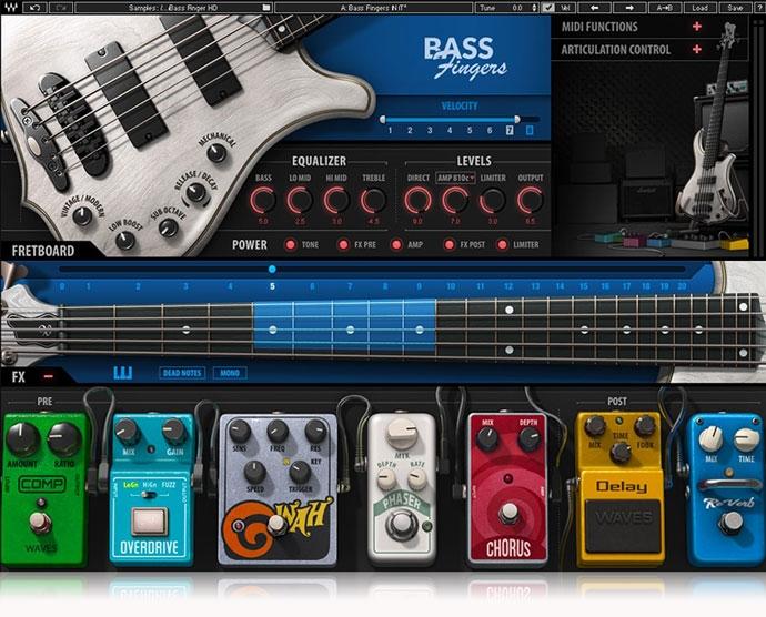 JRRshop com   WAVES Bass Fingers