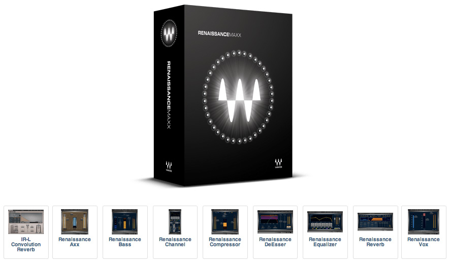 JRRshop com | Waves Renaissance Maxx Native - Download License